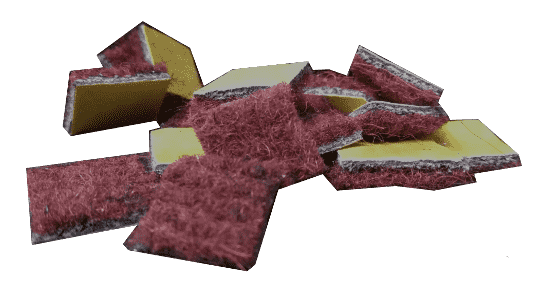 Абстракция коврика на сходи фото